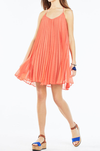 Bcbg - Giselle strappy pleated dress