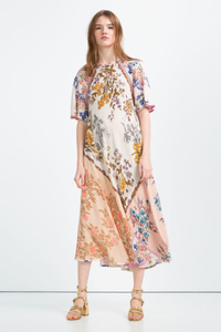 Zara - Printed dress